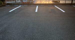 M様会館  駐車場ライン塗装工事