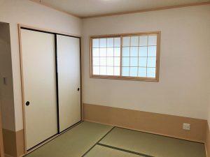 岐阜県瑞穂市に新築分譲【新発売-稲里分譲C-2】リビングと一体化する和室