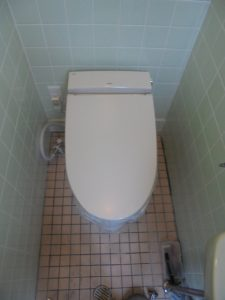 A様邸  外部トイレ改修工事