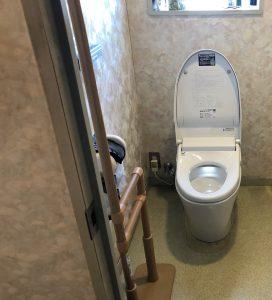 【名古屋北区リフォーム工事】W様邸トイレ洋便器取換え工事