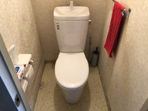 【名古屋中川区リフォーム工事】F様邸トイレ改修工事