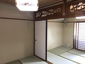 【名古屋市昭和区マンションリフォーム工事】和室・建具改修