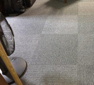 【名古屋市中川区リフォーム工事】タイルカーペット貼替