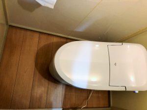 【愛知郡マンションリフォーム】トイレ改修工事