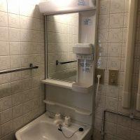 【名古屋市千種区マンションリフォーム】洗面台・キッチン水栓取替工事